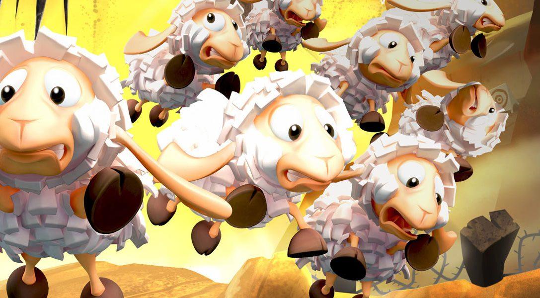Flockers von den Worms-Machern kommt nächste Woche auf PS4