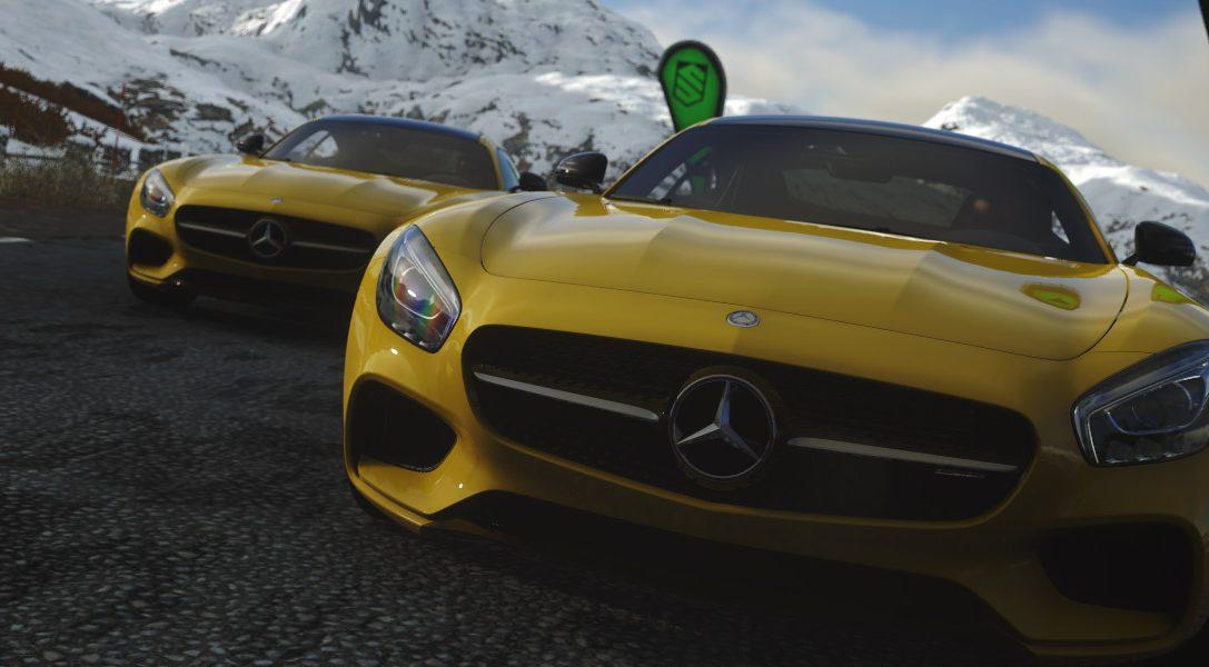 Neuer Mercedes-AMG GT erscheint exklusiv in DRIVECLUB auf PS4