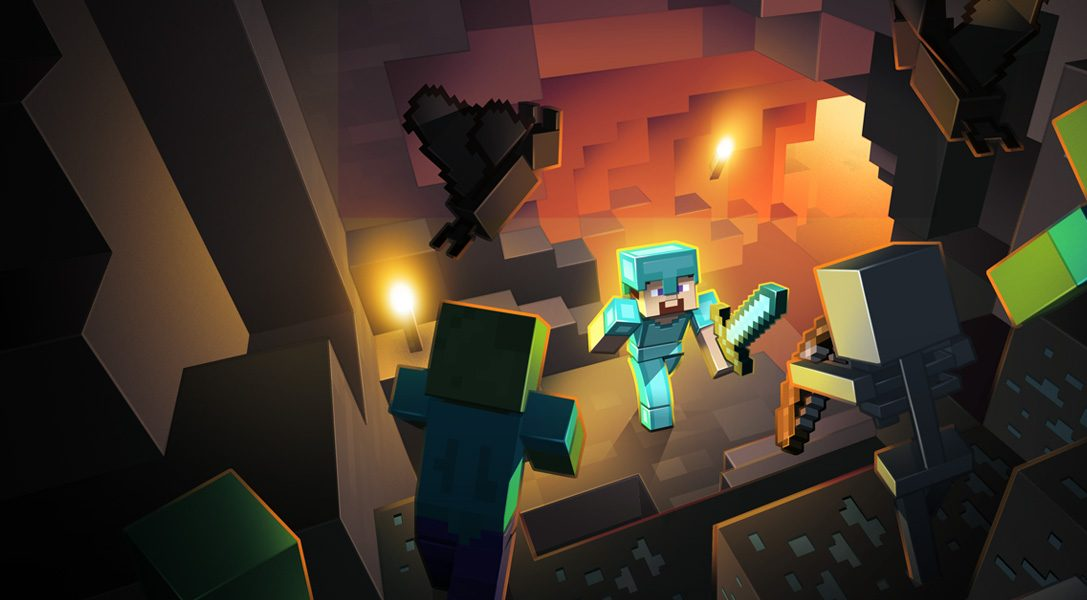 Minecraft PS4 Edition ab sofort verfügbar – inklusive PS3 Upgrade Option!