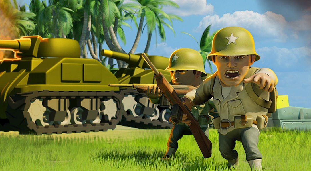 Das kostenlos spielbare Action-Strategie-Spiel Battle Islands marschiert morgen auf PS4