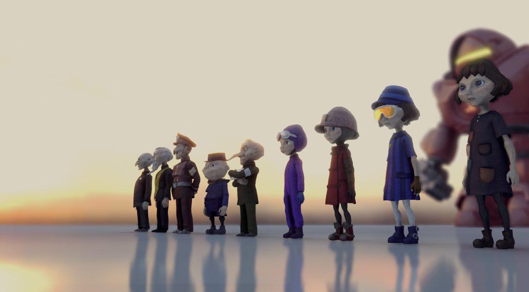 Wie die erstaunliche, ungewöhnliche Grafik von The Tomorrow Children für PS4 erschaffen wurde
