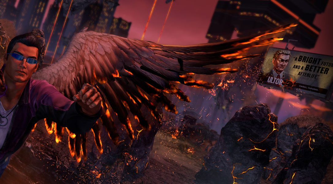 Die Seven Deadly Weapons in Saints Row: Gat out of Hell