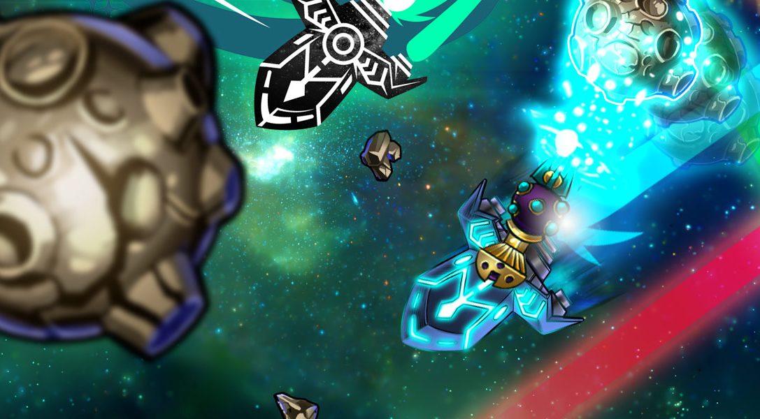 Der Multiplayer-Weltraum-Shooter In Space We Brawl erscheint nächste Woche für PS4 und PS3