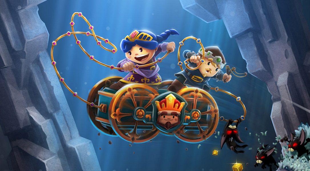 Das süße, schrullige Jump-n-Run-Abenteuer Chariot erscheint heute für PS4