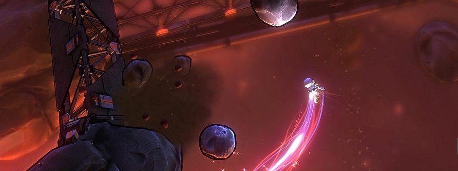 Stylisches Weltraum-Dodge'em Up Lost Orbit für PS4 enthüllt