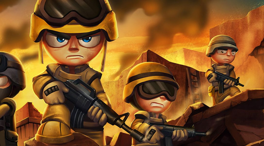 Tiny Troopers Joint Ops ab heute auf PS4