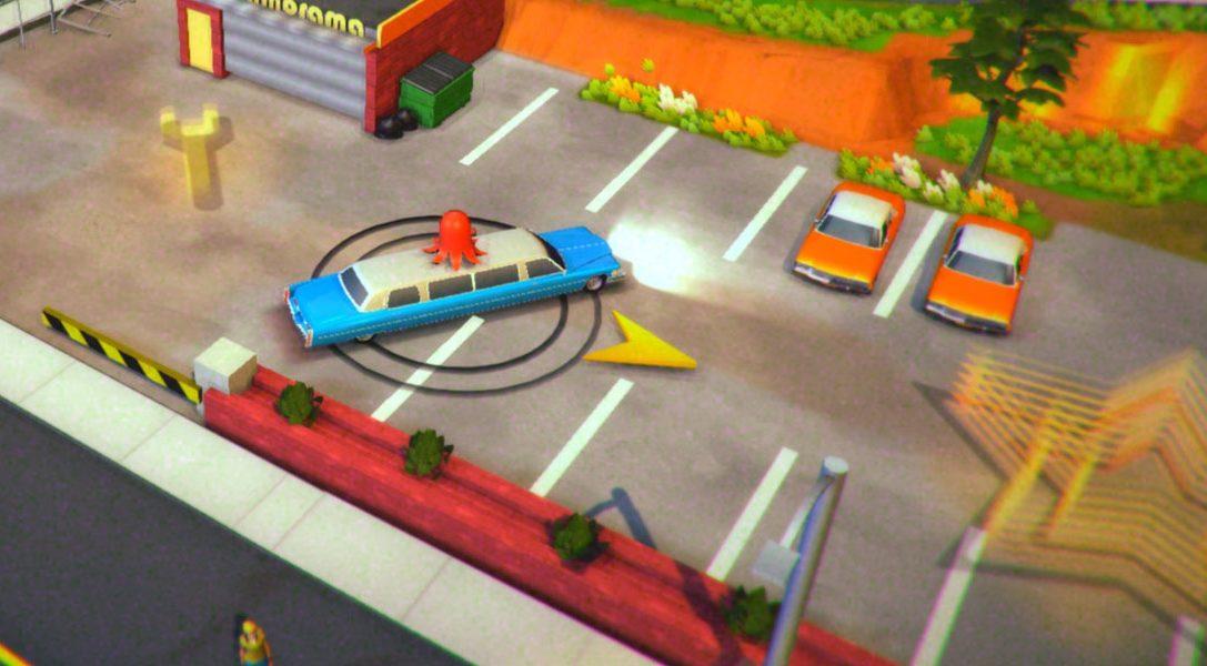 B-Movie-inspiriertes Roundabout erscheint bald auf PS4 und PS Vita