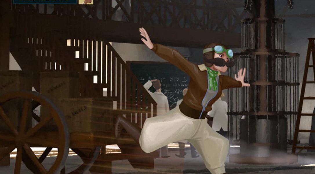 Speakeasy wird vorgestellt, ein PS4-Kampfspiel mit dem gewissen Unterschied
