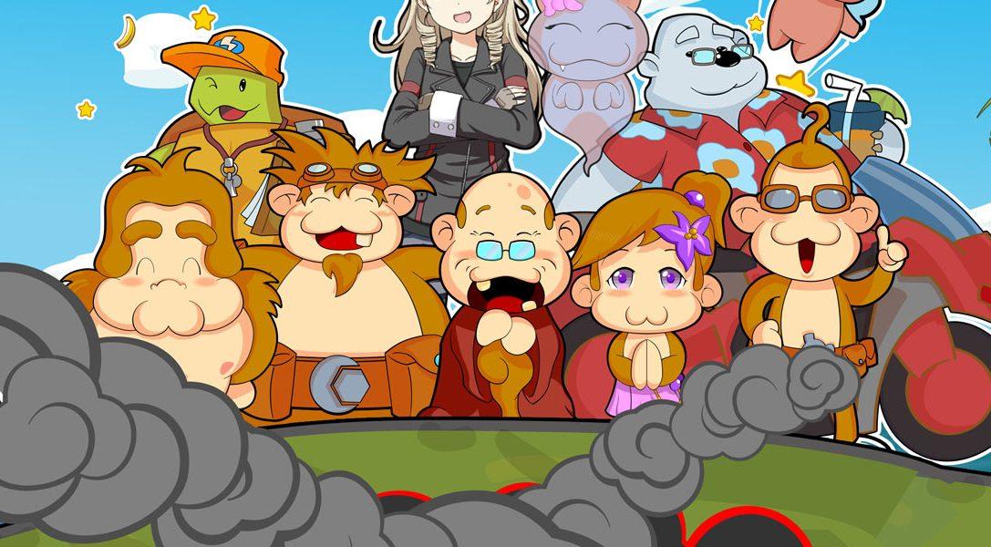 Der originelle Rätsel-Plattformer Baboon! erscheint in Kürze auf PS Vita