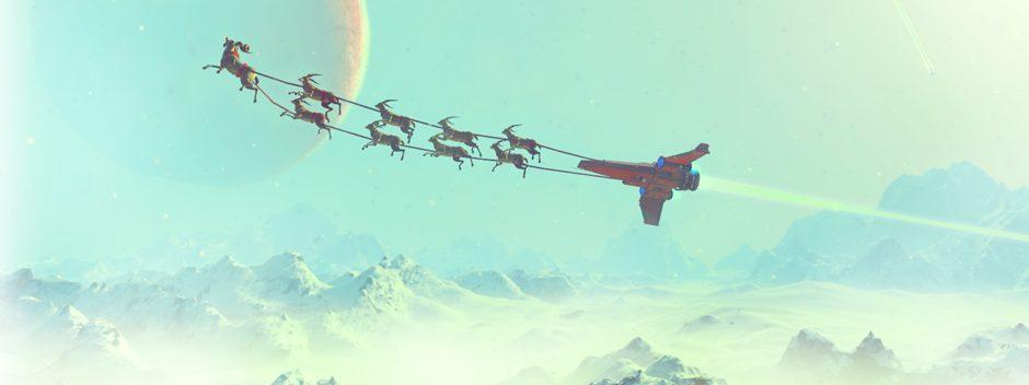 Frohe Feiertage wünscht euch das Team von No Man's Sky!