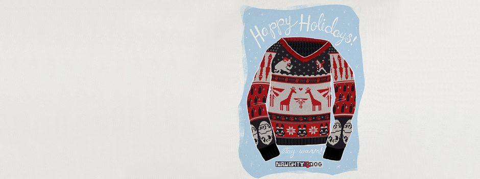 Frohe Weihnachten wünscht Naughty Dog!