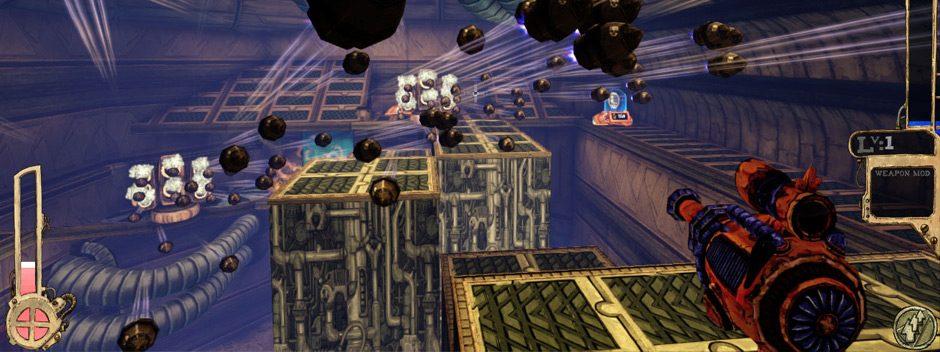 Der prozedural generierte FPS Tower of Guns erscheint für PS3 und PS4