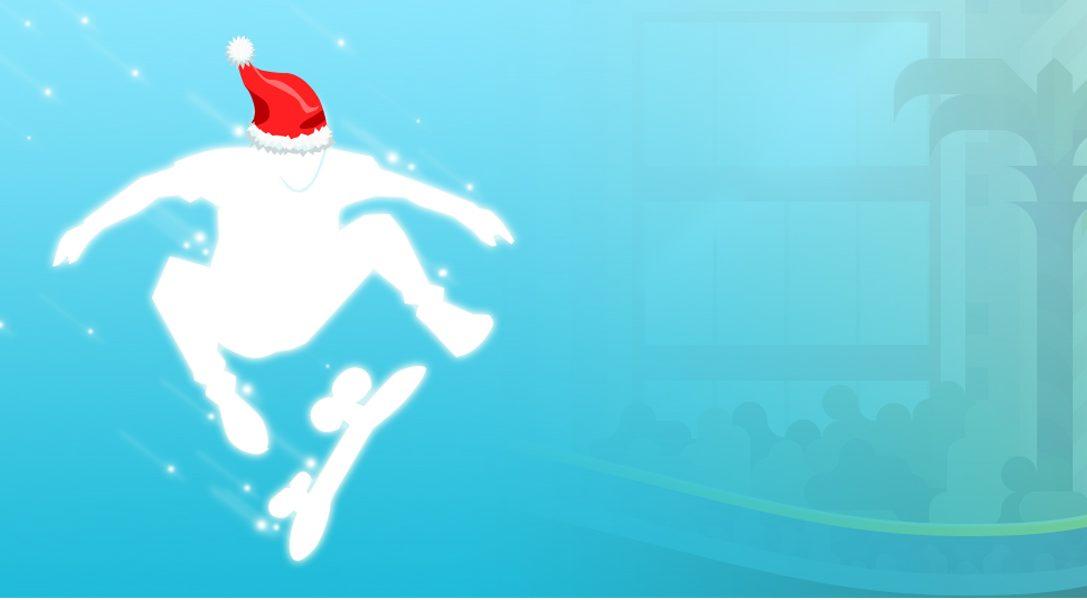 Frohe Weihnachten wünscht euch das OlliOlli-Team von Roll7