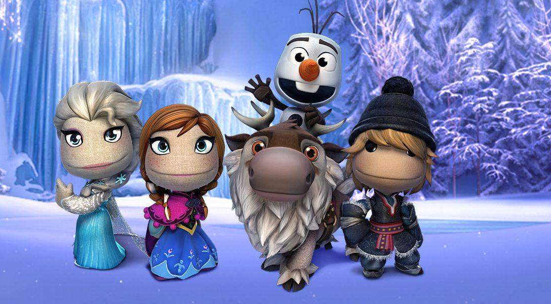 "Disneys ""Die Eiskönigin – Völlig unverfroren""-Kostümpaket für LittleBigPlanet enthüllt"