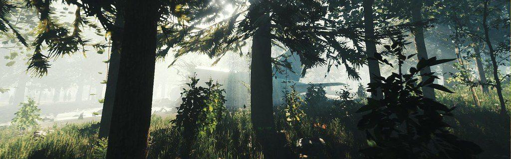 Open-world survival horror The Forest auf der PS4