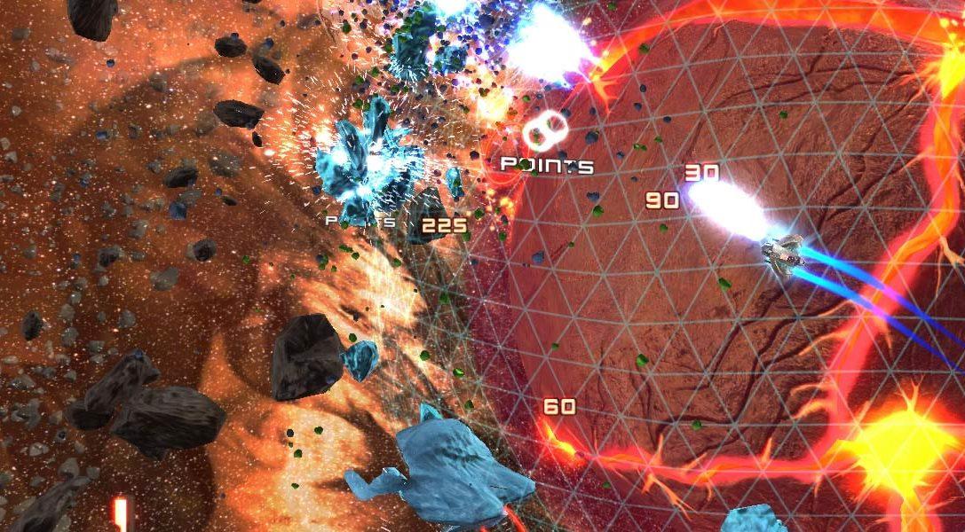 Super Stardust Ultra für PlayStation 4 präsentiert