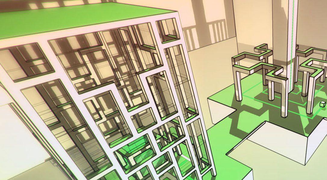 Puzzle-Adventure Relativity erfindet 2015 die Gesetze der Gravitation neu auf PS4