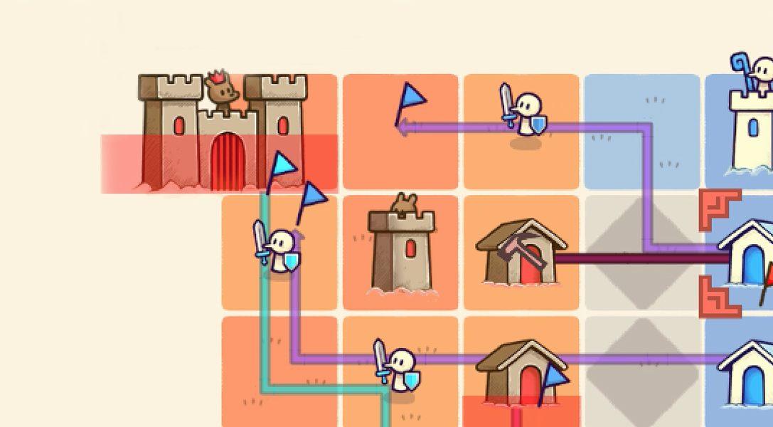 Turbo-Strategiespiel Close Castles kommt vom Threes-Entwickler