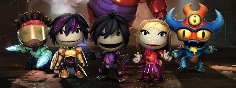 "Disneys ""Baymax – Riesiges Robowabohu"" gibt es ab morgen in LittleBigPlanet 3"