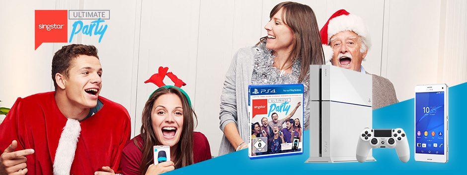 Mit SingStar eine PS4 in Glacier White gewinnen!