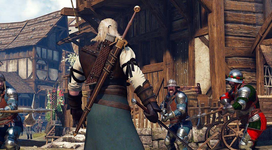 Erkundet die düstere, grausame Welt von The Witcher 3: Wild Hunt auf PS4