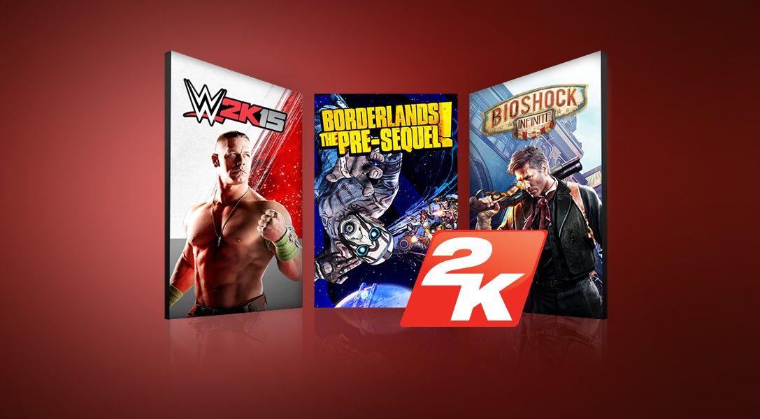Schlagt zu bei den neuen Angeboten im PlayStation Store: 2K Games, Indies und mehr
