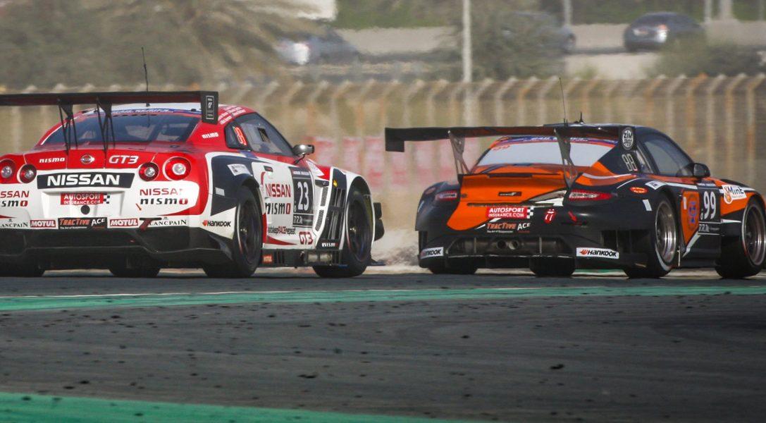 GT Academy Gewinner schaffen es beim Dubai 24 Stundenrennen 2015 auf's Podium