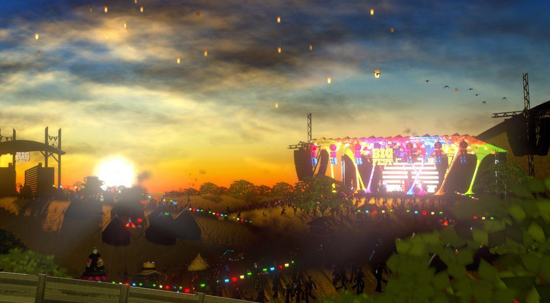 Der Musikfestival-Simulator BigFest erscheint heute exklusiv auf PS Vita