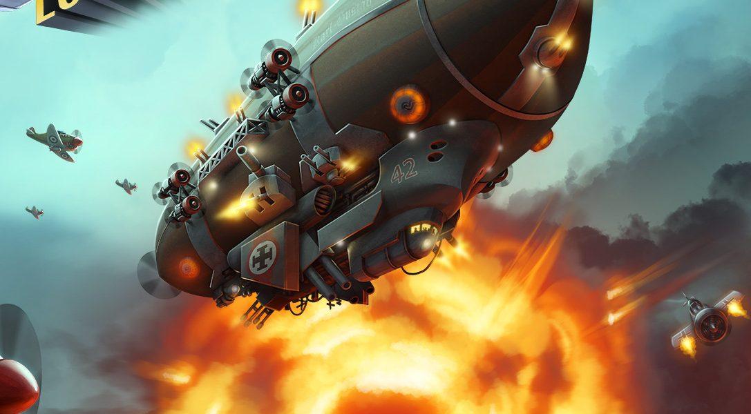 Der Retro-Shooter Aces of the Luftwaffe ballert sich nächste Woche auf das PS4-System