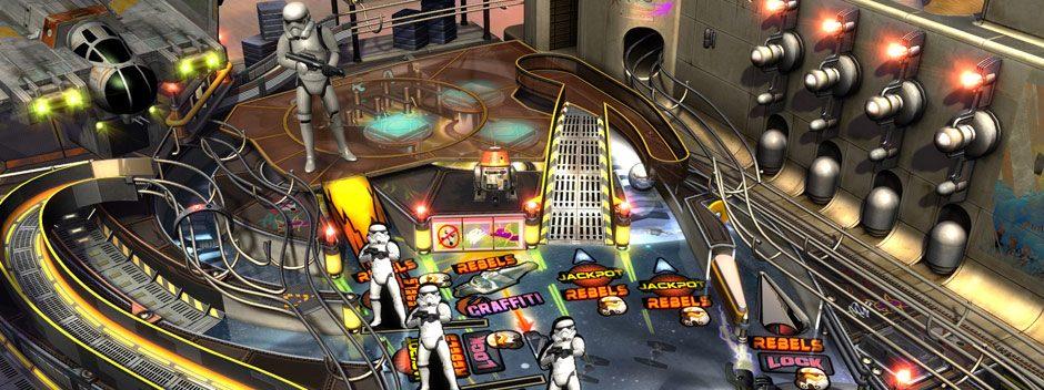 Star Wars Pinball: Star Wars Rebels erscheint bald auf PS3, PS4 und PS Vita