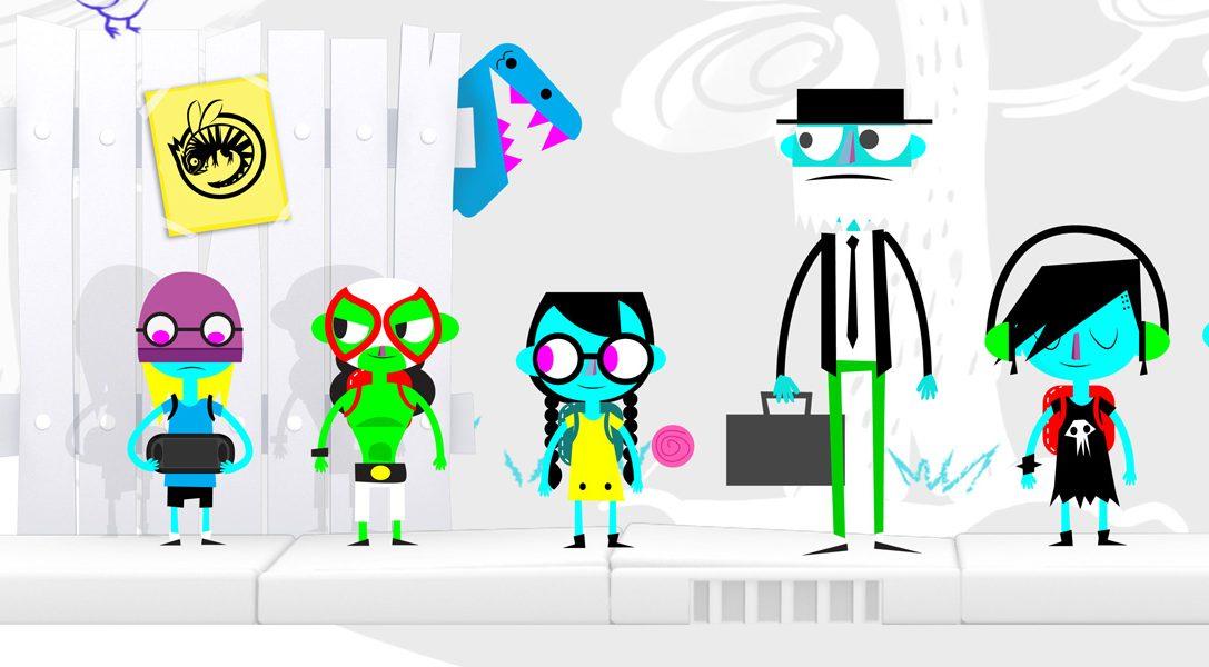 Das exzentrische Rätsel-Plattformspiel MonsterBag erscheint nächsten Monat für PS Vita