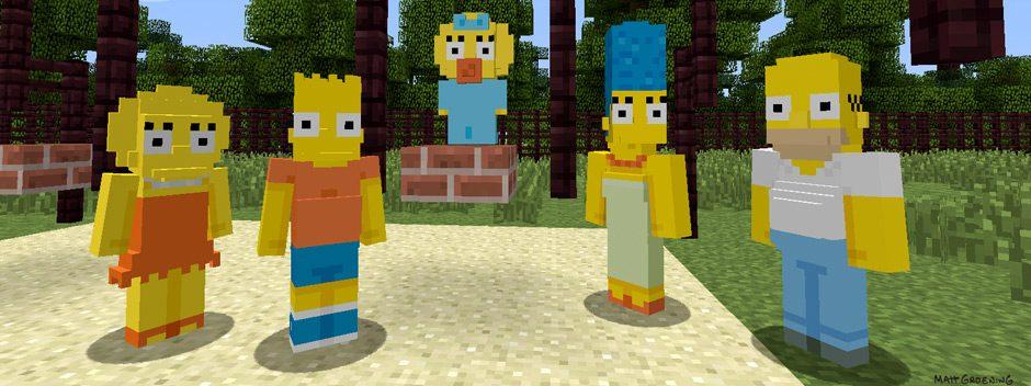 Die Simpsons landen diese Woche in Minecraft