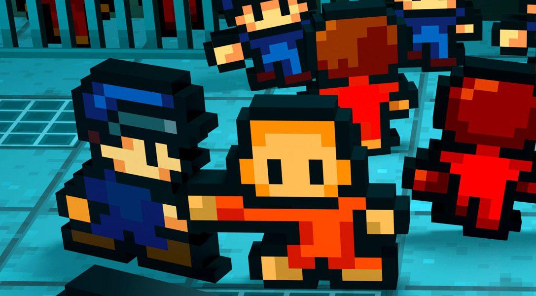 Gefängnisausbruch-Simulation The Escapists gräbt sich am 29. Mai auf PS4