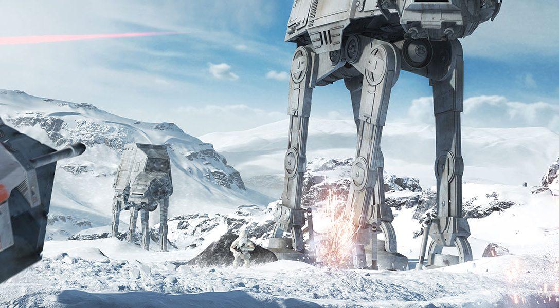 Der Reveal Trailer von Star Wars™ Battlefront™ ist da!
