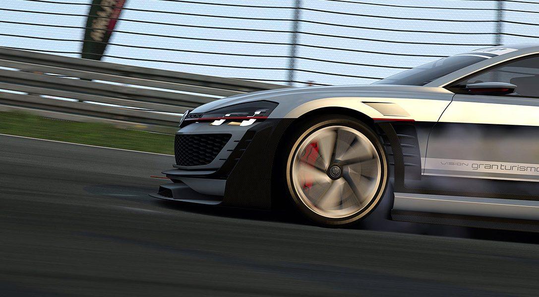 Gran Turismo 6-Aktualisierung fügt neues Vision GT-Fahrzeug von Volkswagen hinzu