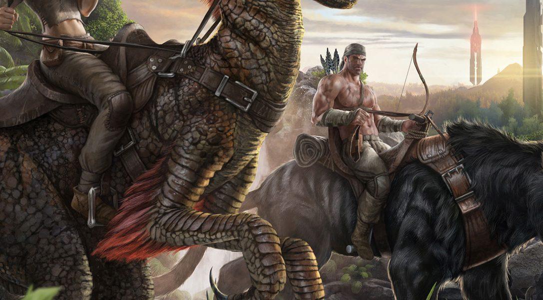 Reitet Dinosaurier in ARK: Survival Evolved, bald auf PS4 erhältlich