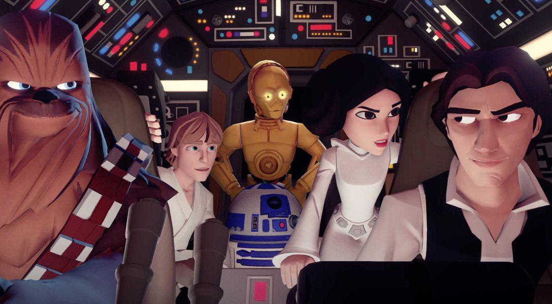 Disney Infinity 3.0: Play Without Limits  für PS4 und PS3 angekündigt – Star Wars inklusive.