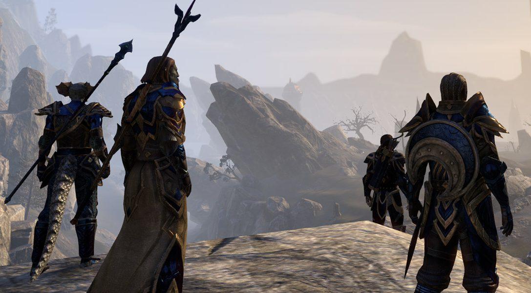 The Elder Scrolls Online: Tamriel Unlimited erscheint in zwei Wochen auf der PS4!