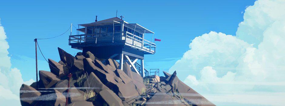 Firewatch macht sein Konsolen-Debüt auf PS4