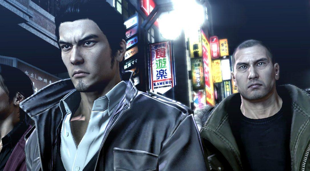 Neues Video gewährt einen Blick hinter die Kulissen von Yakuza 5