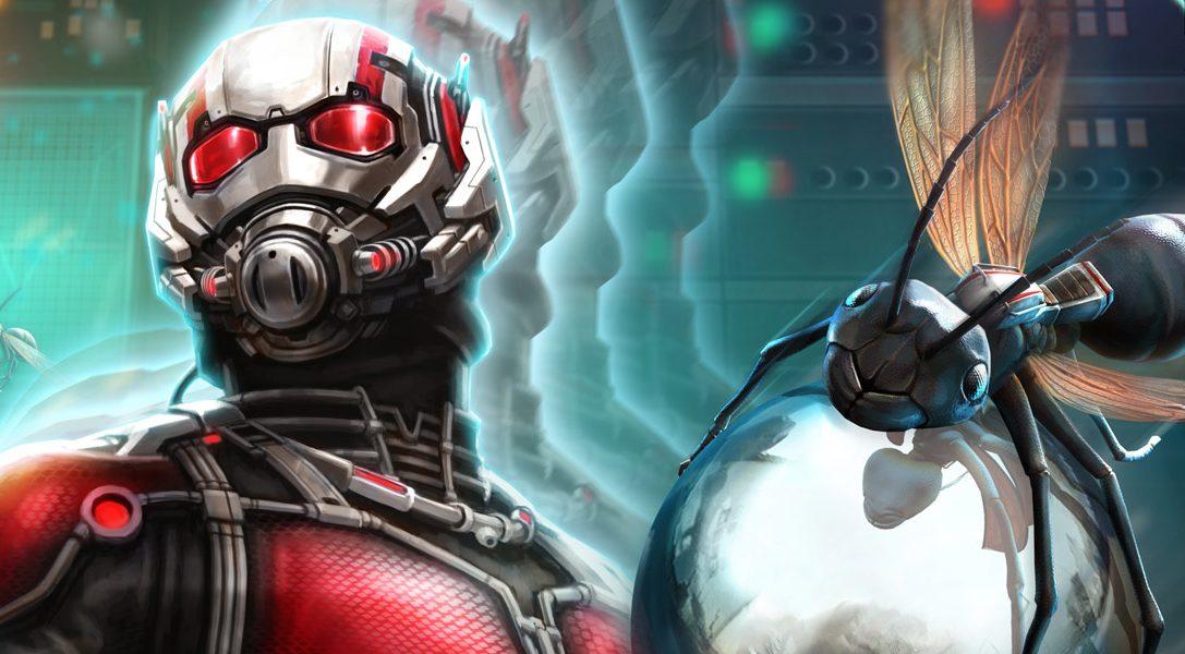 Marvels Ant-Man kommt nächsten Monat als Tisch in Zen Pinball 2
