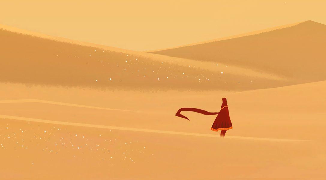 Journey erscheint heute auf PS4, mit 20 % PS Plus-Rabatt