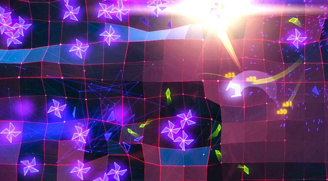 Bei Pythagoras: Geometry Wars 3: Dimensions Evolved angespielt