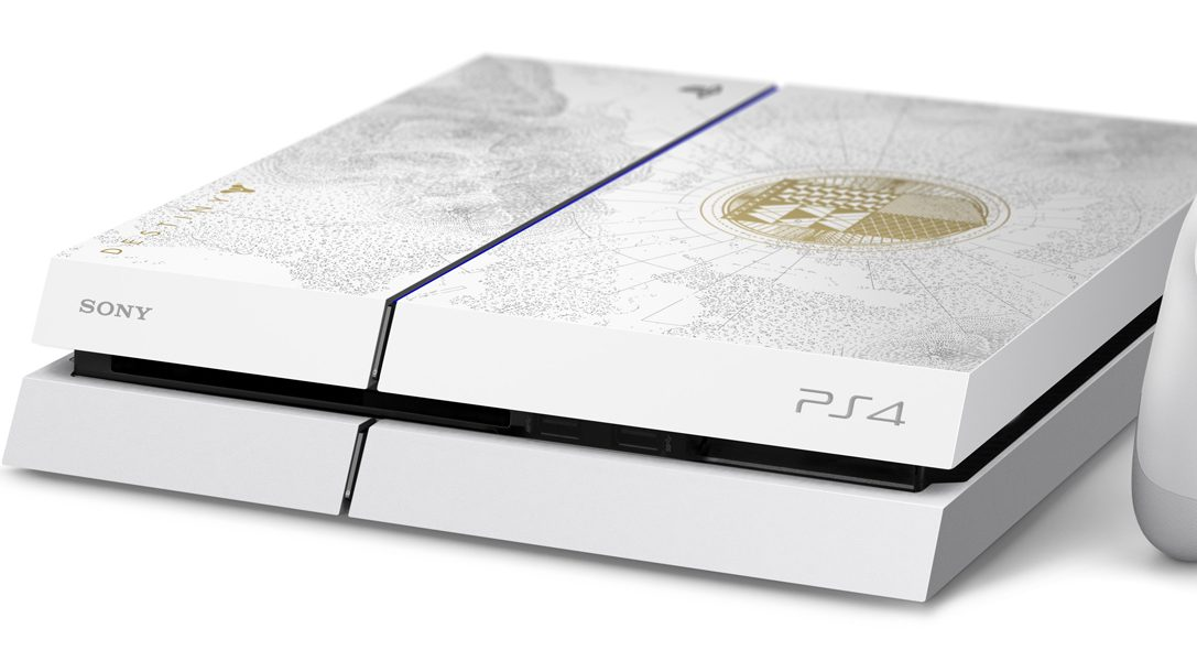 Limited Edition-PlayStation 4 zu Destiny: König der Besessenen enthüllt