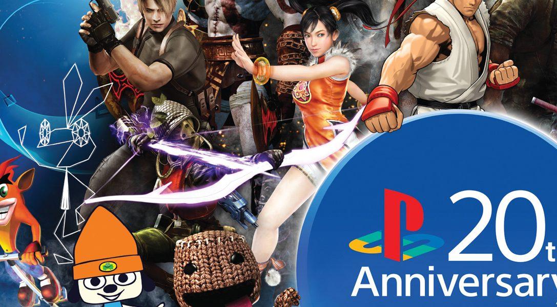 Feiert mit uns #20YearsofPlay und gewinnt eine limitierte 20th Anniversary PS4