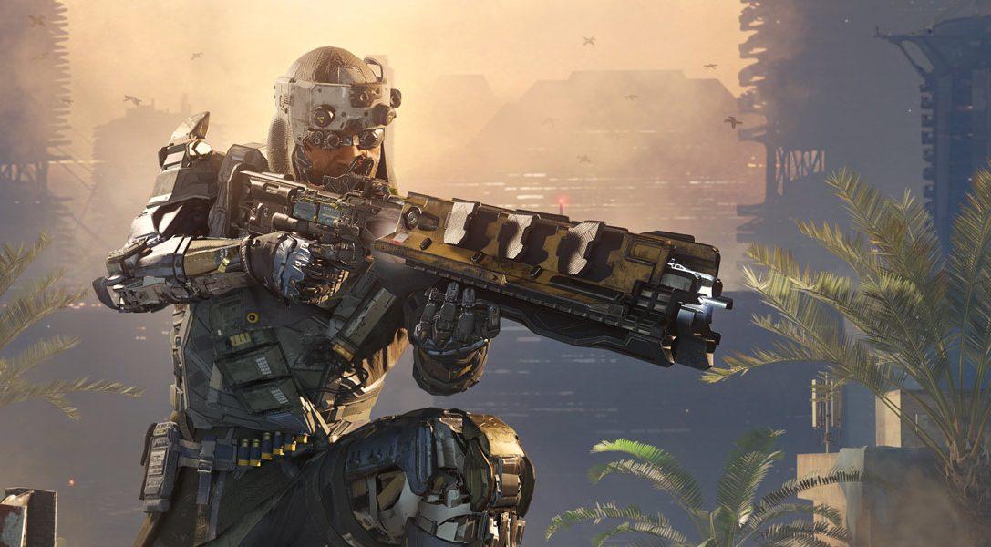Wir präsentieren die limitierte Auflage des PS4-Systems mit 1TB zu Call of Duty: Black Ops III
