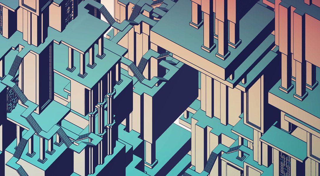 Entdeckt in Manifold Garden auf PS4 eine Welt ohne Grenzen
