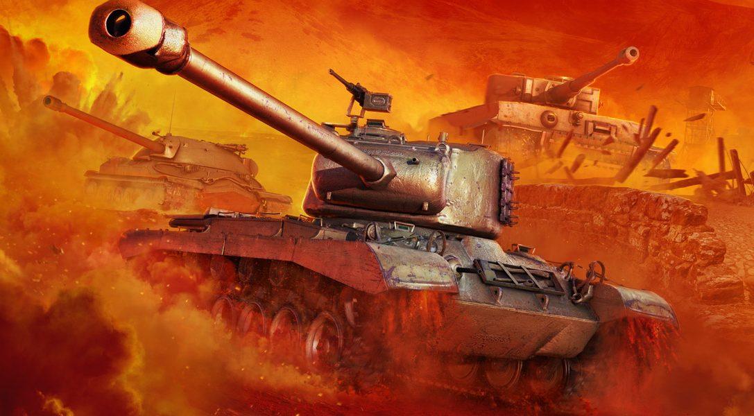 World of Tanks rollt auf PlayStation 4