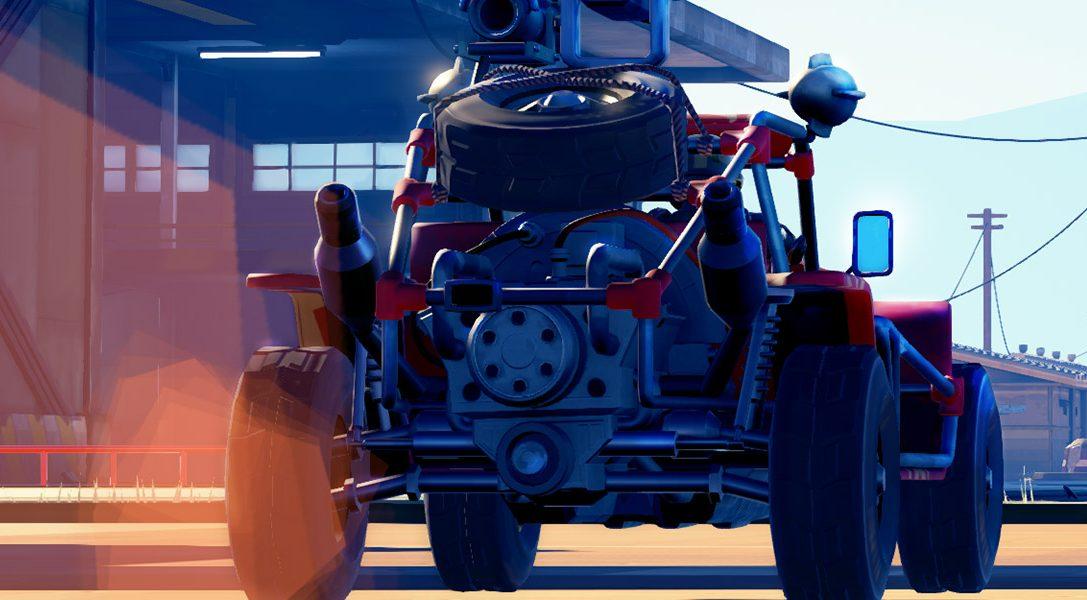 Explosiver Action-Racer Hardware: Rivals für PS4 angekündigt