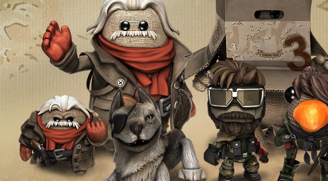 LittleBigPlanet 3 erhält diese Woche das DLC-Paket Metal Gear Solid V: The Phantom Pain